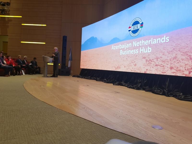 На территории ADA University нашей командой был реализован проект для наших друзей из Азербайджана.