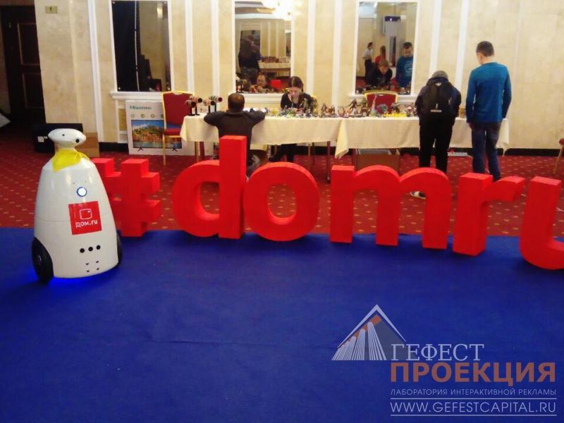 Р-бот представлял компанию Дом.ру на гранд финале Киберспортивной лиги Татарстана