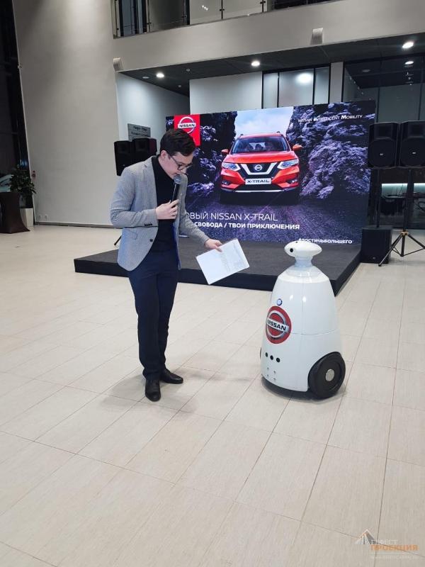 Гефест Проекция РТ предоставила активности, на презентацию нового Nissan для ГК КАН АВТО 8 декабря 2018г.