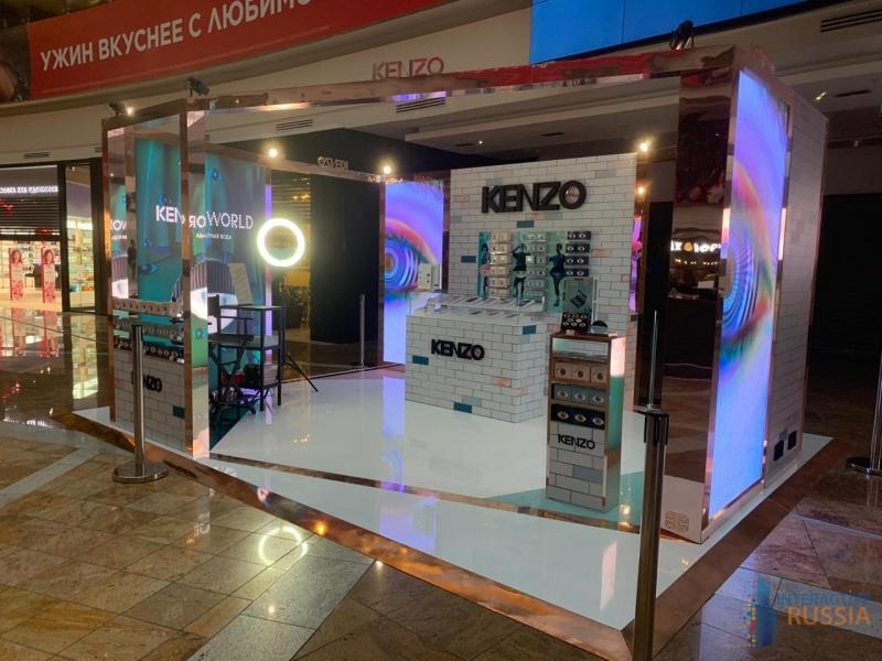 Kenzo World POP UP STORE торжественно открыл свои двери сегодня в 10.00 утра в трц Афи молл