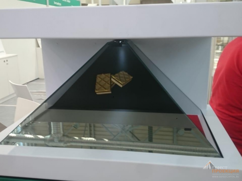 Компания Гефест Проекция предоставила голографическую пирамиду компании Anton Olert