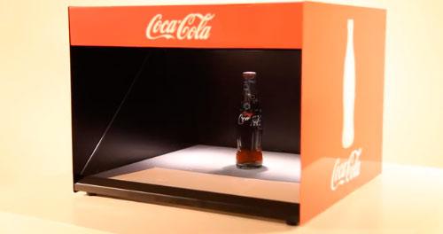 Голокуб для Кока-Колы